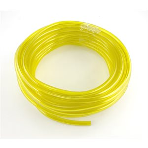 """Fuel line, Yellow (1 / 4"""" ID x 3 / 8"""" OD)"""