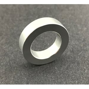"Spindle spacer, 5 / 8"" (1 / 4"") aluminum"