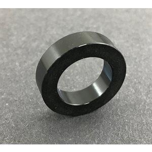 "Spindle spacer, 5 / 8"" (1 / 4"") black aluminum"
