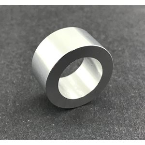"""Spindle spacer, 5 / 8"""" (1 / 2"""") aluminum"""