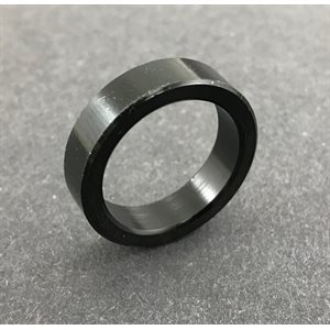 "Spindle spacer, 3 / 4"" (1 / 4"") black aluminum"