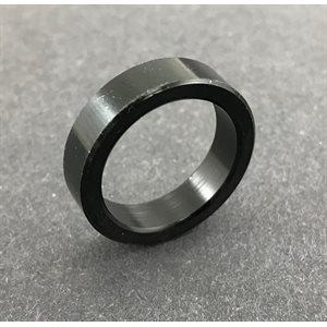 "Spindle spacer, 3 / 4"" (1 / 4"") black aluminum"