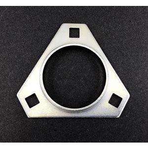 "Bearing flange, 1-1 / 4"" bearing (3 bolt)"