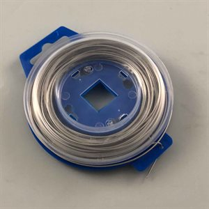 Safety wire, .032 x 50' stainless steel wire