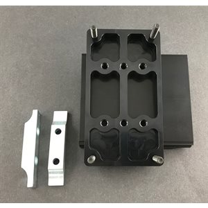 8 / 15 degree dual mount, extended right (International)