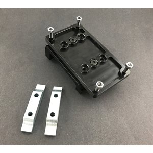 """4-cycle angled motor mount, International 15 degree 3 / 4"""" top plate"""