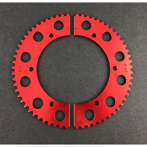 Pit Parts split sprocket (#35 chain)