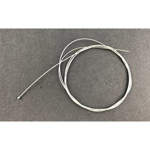 "Throttle cable 80"" (1.2 mm dia.), barrel end"
