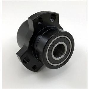 "5 / 8""-3 / 4"" Front Wheel Hub, Black (w / Hardware)"