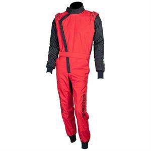 Zamp ZK-40 Adult Kart Race Suit Red / Black