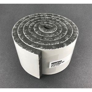 """Foam seat padding roll - 1 / 2"""" x 3"""" x 6'"""
