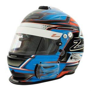 Zamp RZ-42 Helmet - Blue / Orange Graphic