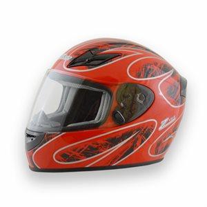 Zamp FS8 Helmet - Red / Black Graphic