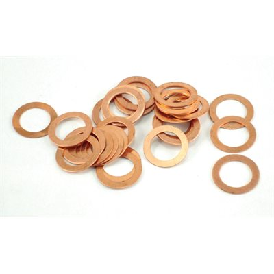 Spark plug index washers, (10 each) .019, .024, .034