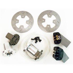 "MCP Front Wheel Brake Kit - 6"" Disc (American) Adjustable Hub"
