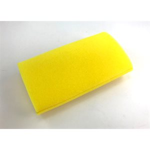 "Prefilter, foam 3-1 / 2"" x 8"" (yellow) 65 ppi"